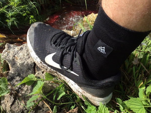 V-DRY - TRAIL-DRY Black Waterproof Sock