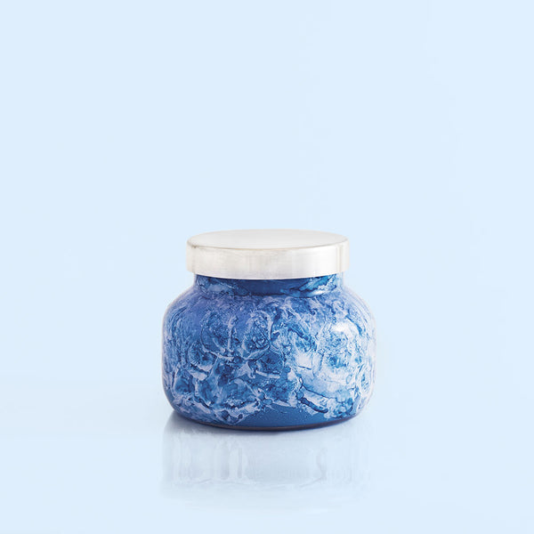 Blue Jean- Watercolor Petite Jar, 8 oz