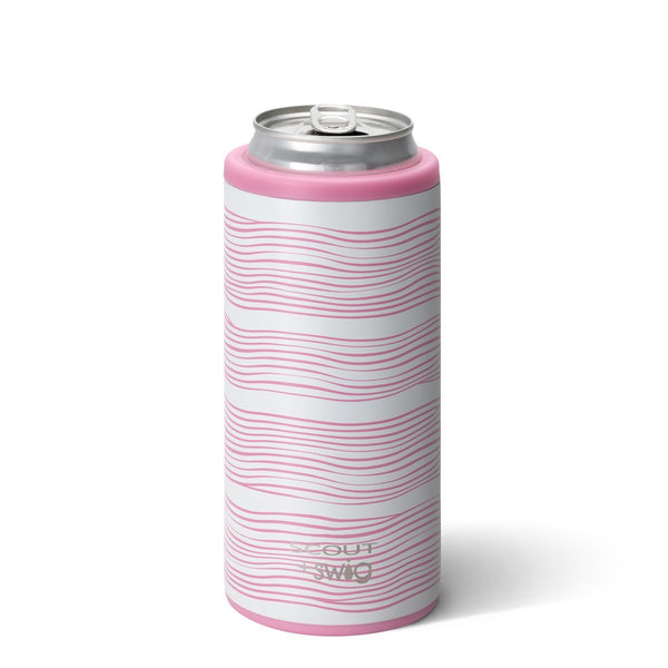 SCOUT+Swig- Wavy Love Skinny Can Cooler 12oz
