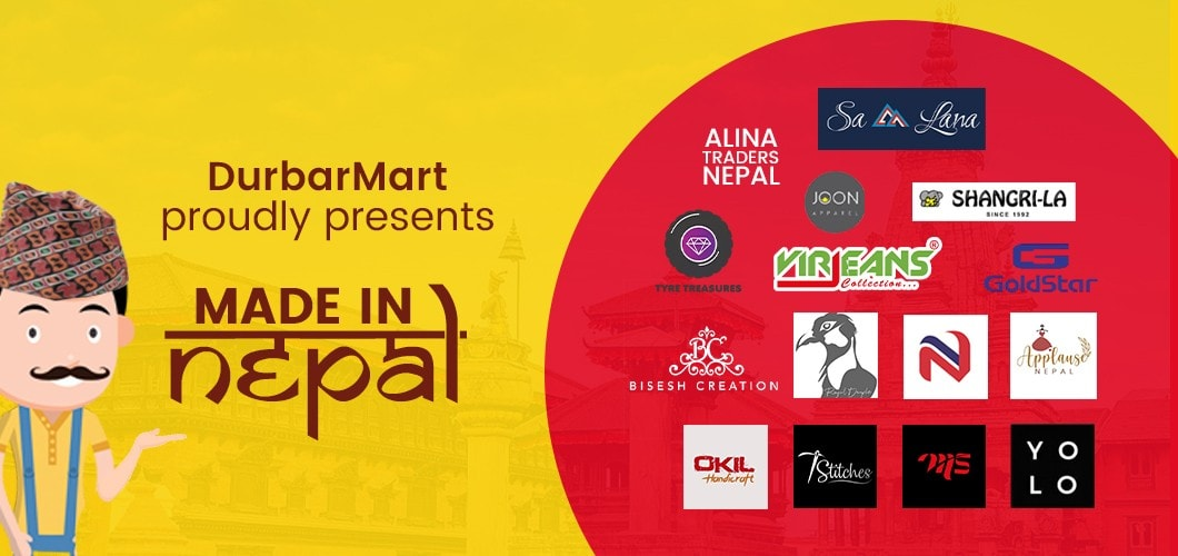 Durbarmart.com Presents Made in Nepal Brands