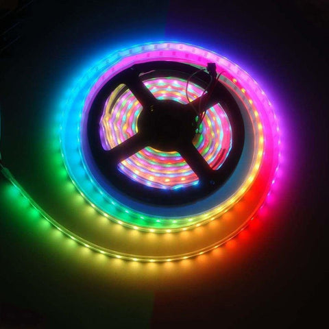 10 Meter Rope Light with Connector - multi colour