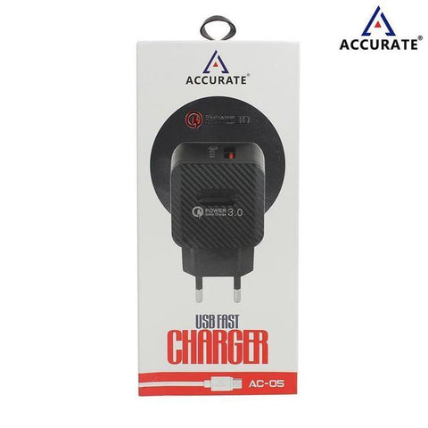 Accurate Fast Charger 3.0A For All Micro USB AC-05