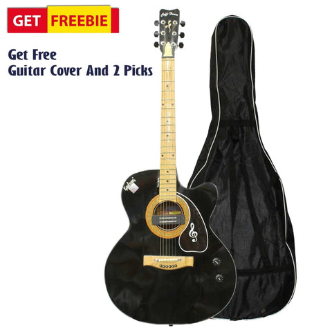 Black Godson Coffee House Indian Guitar With Free Guitar Bag And 2 Picks price in Nepal