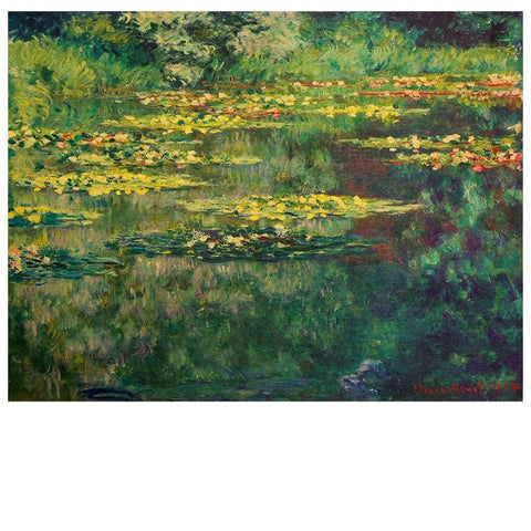 Van Gogh The Pond Nympheas Design Old Styleposter Print Wall Stickers price in Nepal