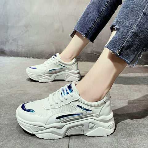 Breathable Lace Up Sneakers For Women price in nepal