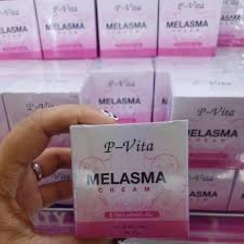 New P-Vita Anti Melasma (Chaya-Poto) Cream For All Skin Types Of 10 Gm / By Shophill