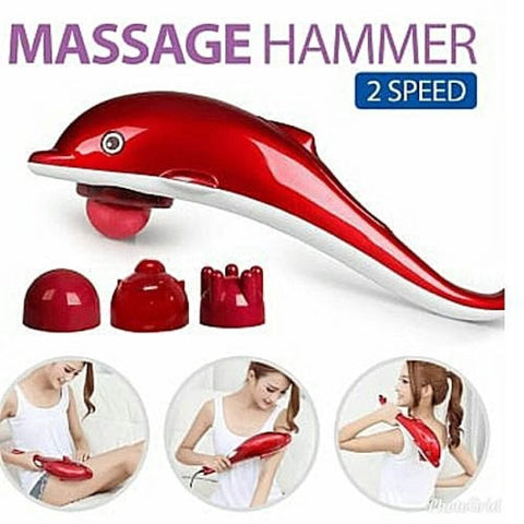 Dolphin Infrared Body Massager, Full Body Massager, Hand Held Massage Gun, Gun Massager / By Shophill