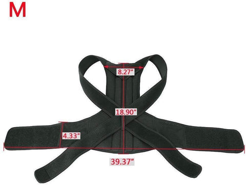 Adjustable Posture Corrector Back Brace For Back Pain Relief And Bad Posture Correction