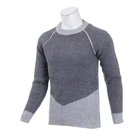 Casual Long Sleeve Autumn Winter Sweater Men Korean Style Slim Knitted Sweater Pullover Jumper Fashion By Bajrang price in nepal