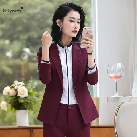 Women's Structured Notched Lapel Maroon Blazer by Attire Nepal price in Nepal