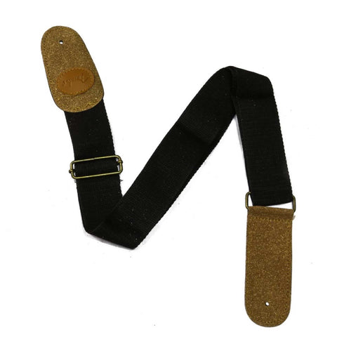 Fender Black/Brown Fully Adjustable Electric Guitar Strap / Belt price in Nepal