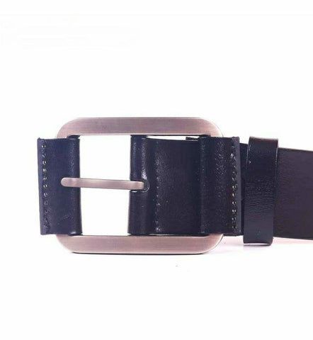 Solid Black Formal And Casual Belt For Men By Arushi Price in Nepal