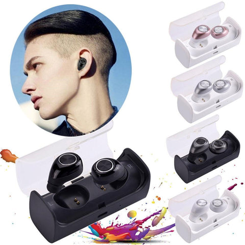 Tws-10 Wireless Bluetooth V4.1 Stereo Bass Earphones