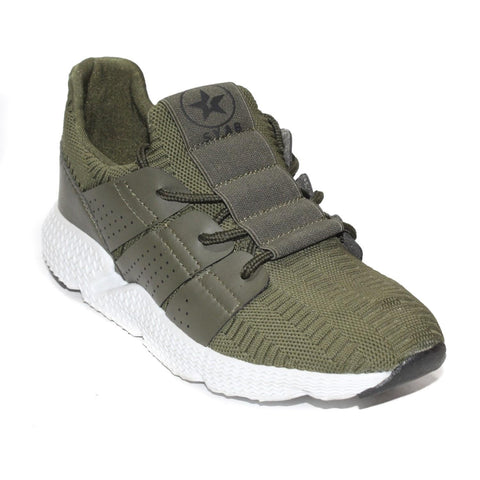 Green Lifestyle Sneakers For Men