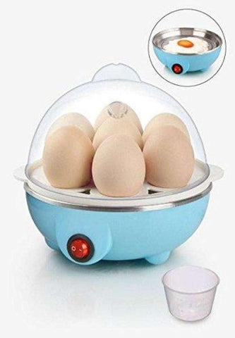 Electric Egg -Boiler/Poacher Cum Food Steamer- Stylish Egg Boiler Cooker ( Boils Potatoes, Eggs And Many More) - Assorted Colors