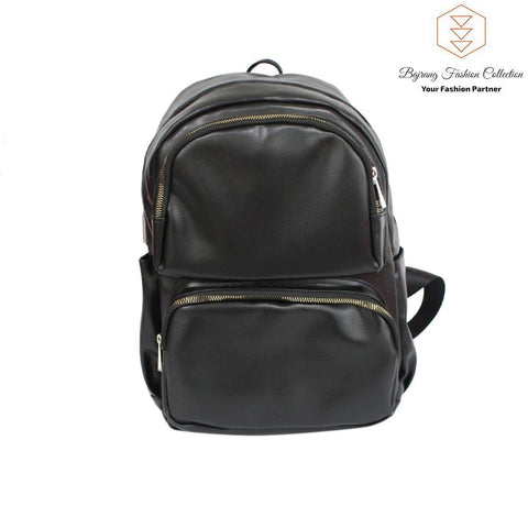 PU Leather Mini Backpack Women Shoulder Bag For Teenage Girls Kids Multi-Function Small Bagpack By Bajrang