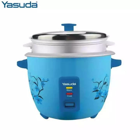 Yasuda YS-2250C 2.5 Litre Drum Rice Cooker with Steamer price in Nepal