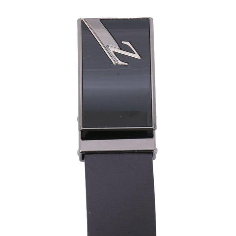 Black Solid Z Buckle Belt For Men Price in Nepal