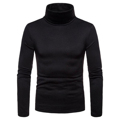Hot Fashion Men Sweater Solid Roll Turtle Neck Pullover Knitted Jumper Winter Men Fashion Casual Hi-Neck Tops By Bajrang price in nepal