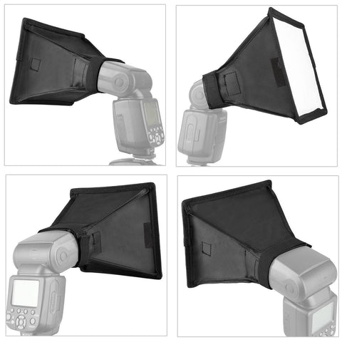 35001403 Flash Softbox Light Diffuser Speedlite Translucent Soft Box For DSLR Camera Big