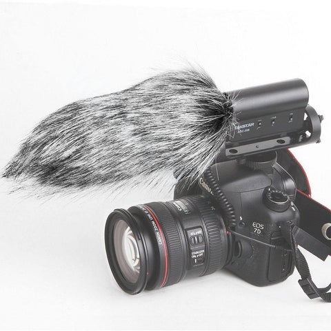 35000052 Outdoor Portable Furry Microphone Mic Windscreen for 18cm Similar Mics