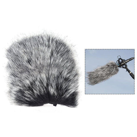 35000051 Medium Outdoor Mic Furry Windscreen Windshield Cover Muff 9cm Internal Length