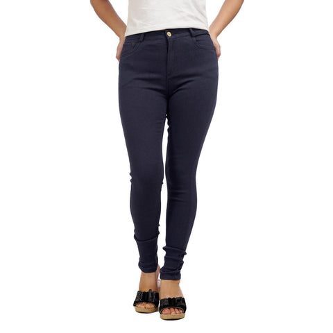 Women's High Waist Slim Fit Denim Pants by Attire Nepal price in nepal