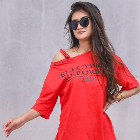 RedTshirt For Women price in nepal