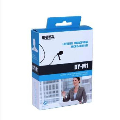 BOYA BY-M1 Omni-Directional Lavalier Microphone
