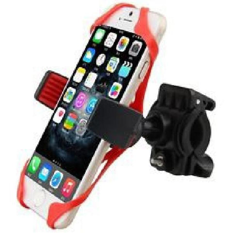 Bicycle Bike Handlebar Clip Mount Holder for Cell Phone with Elastic Band