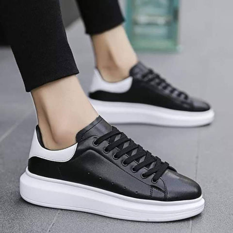 Breathable Lace-Up Casual Sneakers For Women ( B88 )