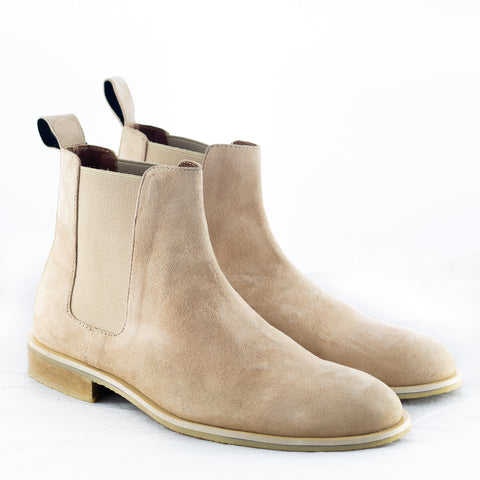 The Beige Suede Chelsea Boots price in nepal