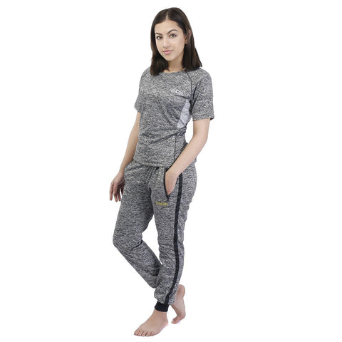 Knitted Cotton Sports Winter t-Shirt & Jogger Set For Women price in nepal