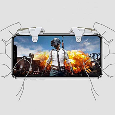 King 2 Metal Click PUBG Mobile Game Fire Button Aim Key Smart Phone Gaming Trigger L1 R1 Shooter Controller price in nepal