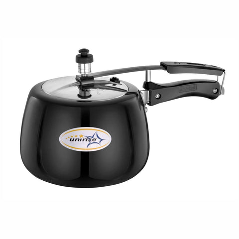 Hard Anodised 5Ltrs Non Induction Pressure Cooker