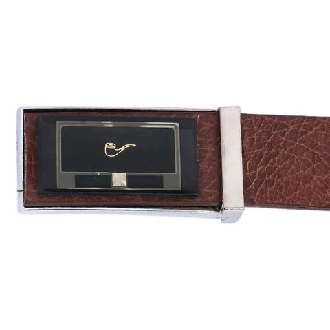 Brown Textured Design Belt For Men Price in Nepal