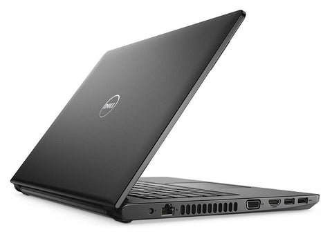 "Dell Inspiron 3468 i5 7th Gen Processor 8GB RAM/ 240GB SSD/ AMD 2GB Dedicated Graphics/ 14"" HD Display Black Win10 Laptop"