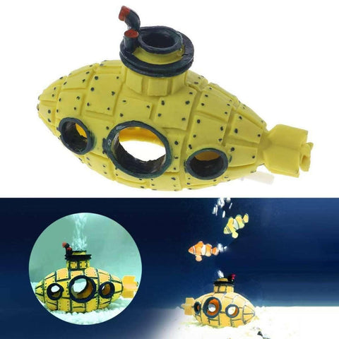 Submarine Fish Tank Decor Ornament Aquarium Hiding Cave Decoration Landscaping  price in Nepalprice in Nepal