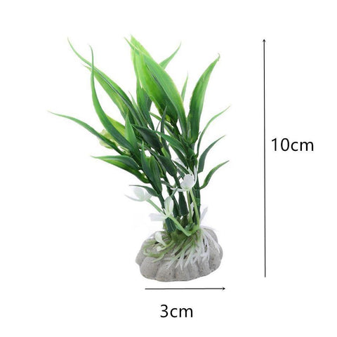 Aquatic Water Plants Fish Tank Aquarium Simulation Grass Decor Supplies