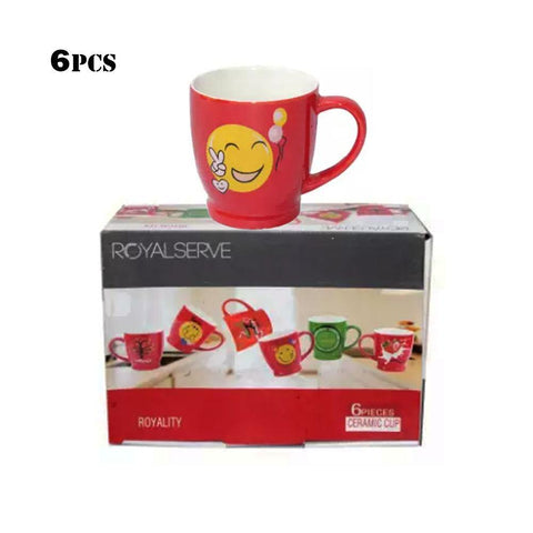 Royal Serve Royality Red 6 Pcs Ceramic Cup  price in nepal