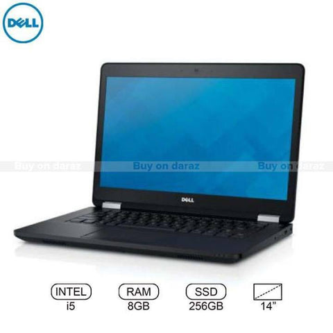 Dell Latitude E5470 Business Series Intel Core i5 6th Gen 2.3GHZ / 8GB/ 256GB SSD 14 HD Display win 10 Genuine Laptop