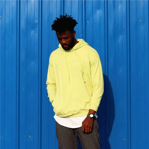 Neon Over Size Hoodie