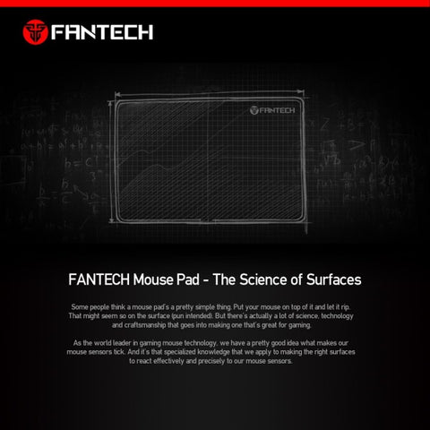 FANTECH SVEN MP35 HIGH NON-SLIP BASE GAMING MOUSE PAD SEWED EDGE