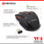 FANTECH WIRELESS GAMING MOUSE W4 (FTM-W529) BLACK