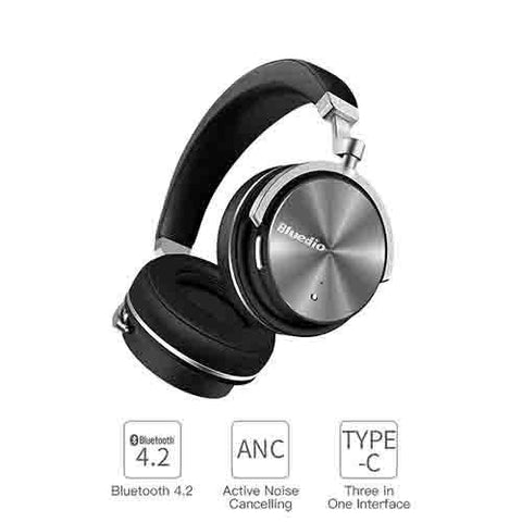 Copy of BLUEDIO T3 EXTRA BASS BLUETOOTH HEADPHONES ON EAR WITH MIC price in Nepal