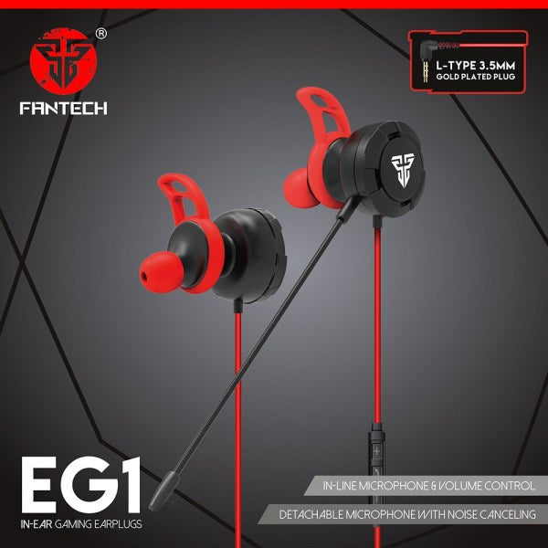 FANTECH EG1 IN-EAR EARPHONE WITH DETACHABLE MIC price in nepal
