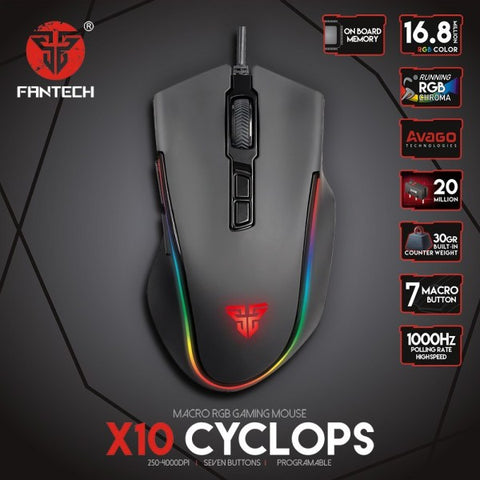 FANTECH CYCLOPS X10 GAMING MOUSE  price in nepal