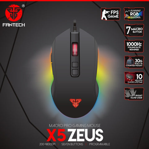 Fantech ZEUS X5 Gaming Mouse price in nepal
