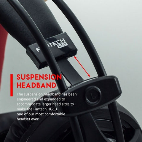 FANTECH GAMING HEADSET HG13 CHIEF WITH MICROPHONE