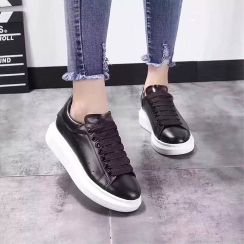 Breathable Lace-Up Casual Sneakers For Women ( 861-1 )